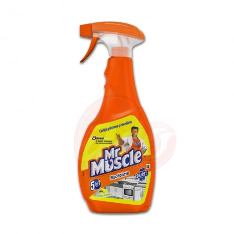 Spray Bucatarie  Mr Muscle Lemon 500 ml