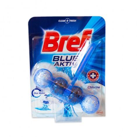 Odorizant toaleta Bref Blue Aktiv Chlorine 50 gr