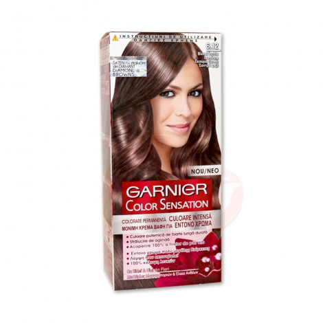 Vopsea de par Garnier Color Sensation 6.12 blond inchis luminos