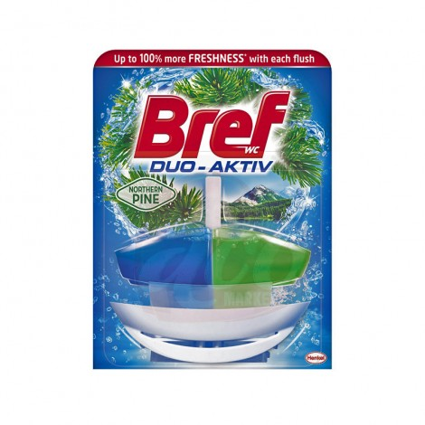 Odorizant wc Bref Duo Activ Pine 50 ml