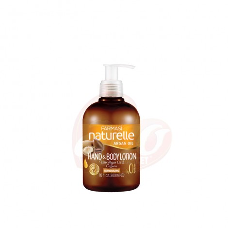 Lotiune maini si corp Farmasi Naturelle Argan Oil 300 ml