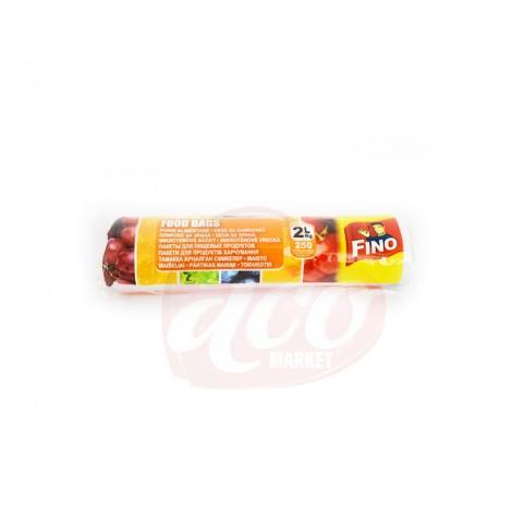 Pungi alimentare Fino 2 kg/ 250/rola