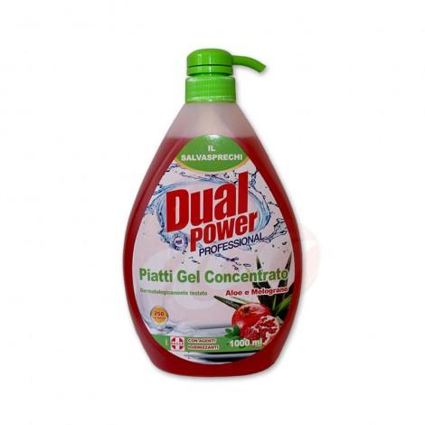 Detergent vase Dual Power Professional Aloe & Melograno 1l