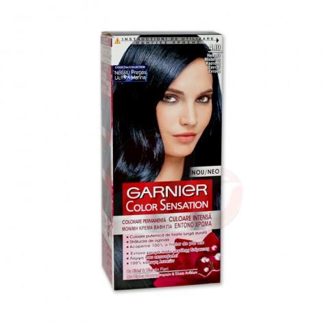 Vopsea de par Garnier Color Sensation 4.10 negru albastrui