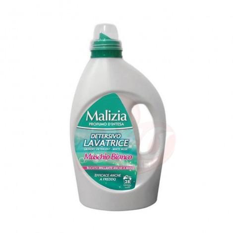 Detergent lichid Malizia-Muschio Bianco 28 spalari 1.82l