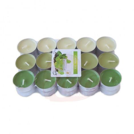 Lumanari pastila parfumate green tea 30/set 4h