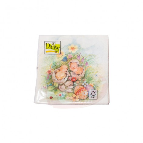 Servetele de masa Daisy decor Paste 20 buc 33x33cm
