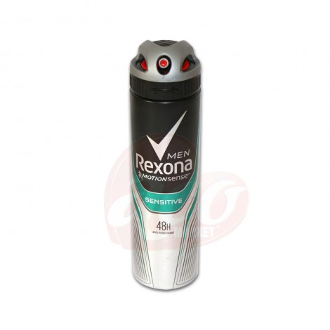 Deodorant antiperspirant spray pentru barbati Rexona Sensitive 150ml