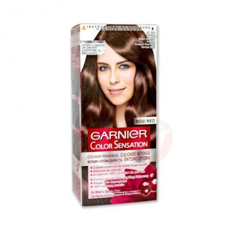 Vopsea de par Garnier Color Sensation 5.12 saten deschis pretios