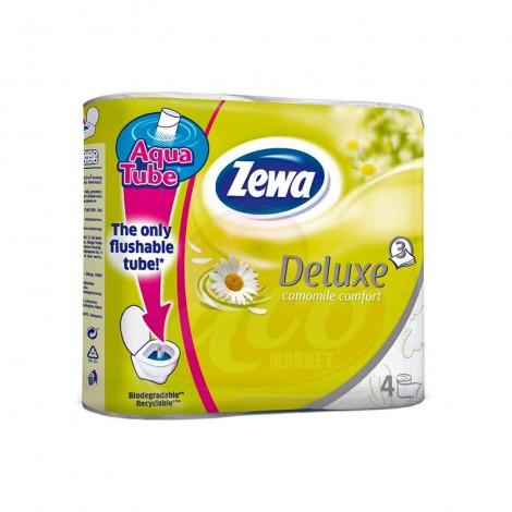 Hartie igienica Zewa Deluxe Musetel 3 straturi 4/set