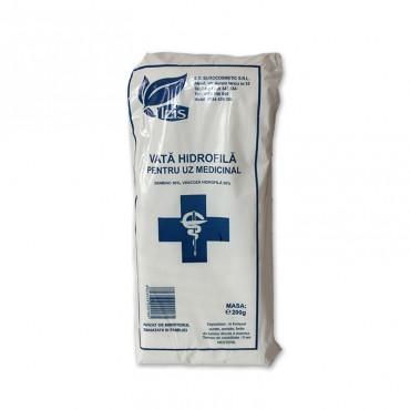 Vata medicinal din bumbac Izis 200 gr
