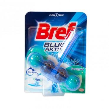 Odorizant toaleta Bref Blue Aktiv Eucalyptus 50 gr
