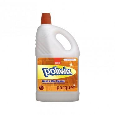 Detergent pardoseli delicate Sano Poliwix Parquet 2L