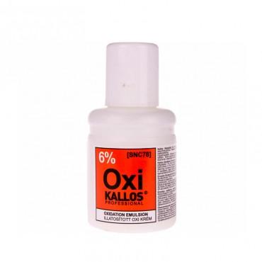 Crema oxidanta Kallos 6% 60 ml