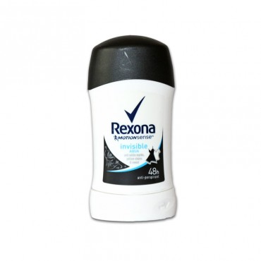 Deodorant antiperspirant stick Rexona Invisible Aqua 40ml