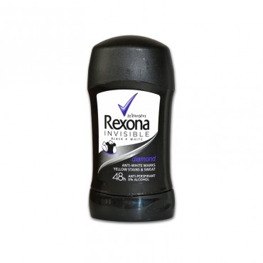 Deodorant antiperspirant stick Rexona Invisible Black & White 40ml