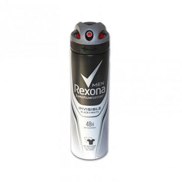 Deodorant spray pentru barbati Rexona Invisible Black & White 150ml