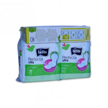 Absorbante Bella perfecta green 20buc.+panty