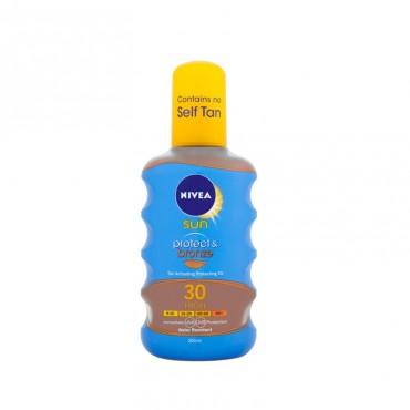 Spray protectie solara si bronzare rapida Nivea Sun SPF 30 200 ml