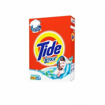 Detergent manual 2 in 1 Tide Lenor Touch 450 gr