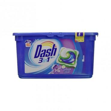 Detergent capsule Dash Lavanda & Camomilla 40x35gr