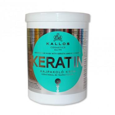 Masca de par Kallos Keratin 1000 ml