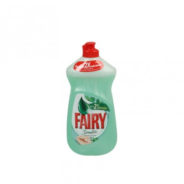 Detergent de vase Fairy Tea Tree & Mint 450ml