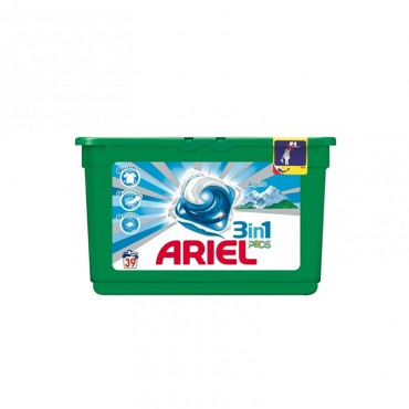 Detergent capsule Ariel 3in1 Pods Alpine 39x29.9 ml