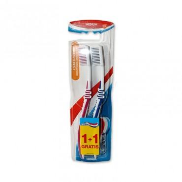 Periuta de dinti Aquafresh Clean & Flex 1+1