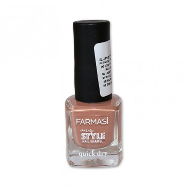 Lac de unghii Farmasi My Style Quick Dry nude 510, 6ml