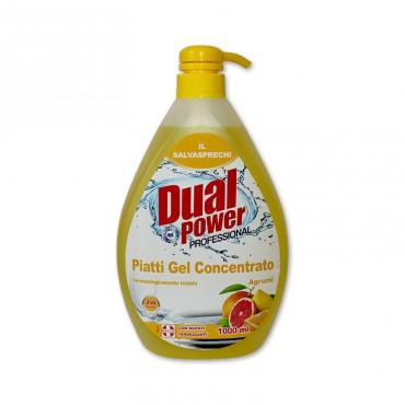 Detergent vase Dual Power Professional Agrumi 1l