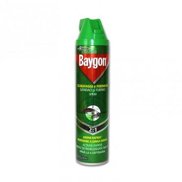 Insecticid Baygon spray 2in1 gandaci si furnici