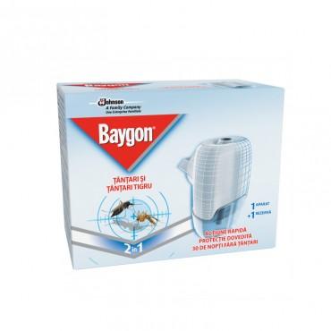 Aparat electric cu rezerva lichida Baygon 30 nopti
