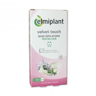 Benzi depilatoare fata Elmiplant 20/set