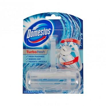 Odorizant wc Domestos ap+rezerva Turbo Fresh Ocean 32 gr