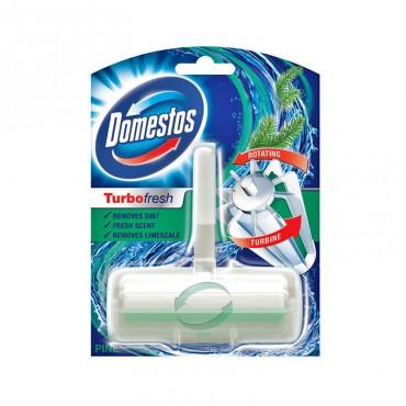 Odorizant wc Domestos ap+rezerva Turbo Fresh Pine 32 gr