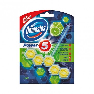 Odorizant wc Domestos Power Lime 55 gr