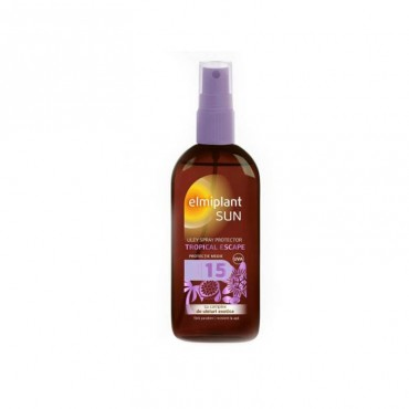 Ulei protectie solara Elmiplant Sun tropical SPF 15 150 ml
