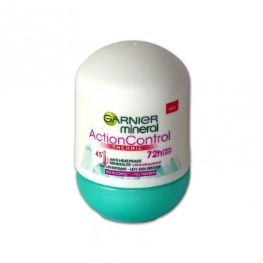 Deodorant antiperspirant roll-on Garnier Action Control 72h