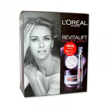 Caseta L'Oreal Paris dama revitalift + serum