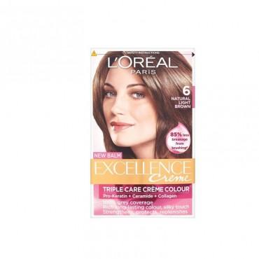Vopsea de par L'Oreal Excellence Creme 6 blond inchis
