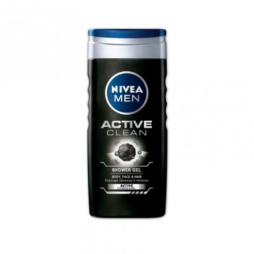 Gel dus Nivea Men Active Clean 250 ml