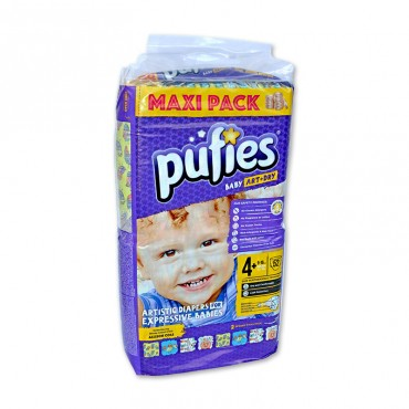 Scutece Pufies new maxi pack 4 + 52/set