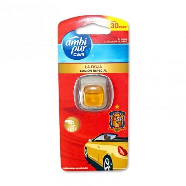 Odorizant auto Ambi Pur La Roja editie speciala 2 ml