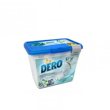 Detergent gel capsule Dero prospetime pura 10 x 24 ml