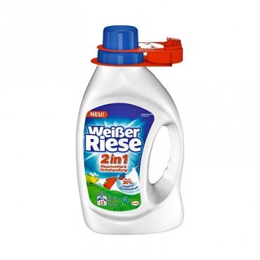 Detergent lichid Weisser Riese 2 in 1 13 spalari 949ml