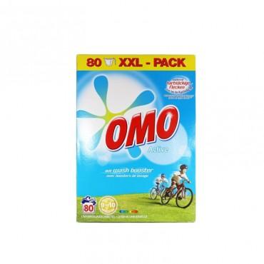 Detergent automat pudra Omo Active 80 spalari 5.6 kg