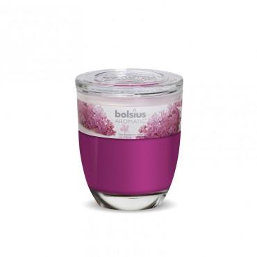 Candela pahar mare Bolsius liliac