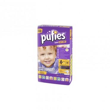 Scutece copii Pufies Sensitive nr. 4 Maxi 56 buc/set