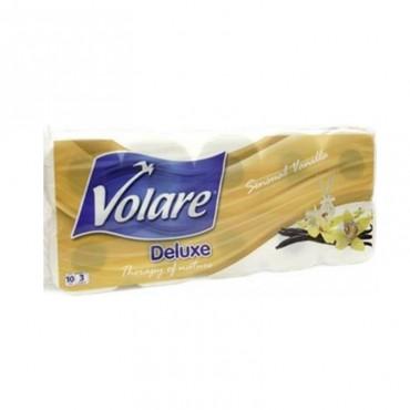Hartie igienica Volare Deluxe vanilie 3 straturi 10/set